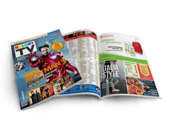 Kolory tv – magazyn